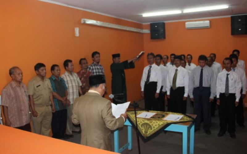 Persiapan Pendataan Penyelenggara Pemilu dan PNS di Lingkungan Sekretariat KPU Kota Bogor