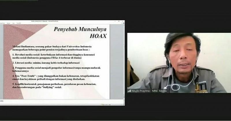 Webinar Ngopi D'Lu KPU Kab Bandung