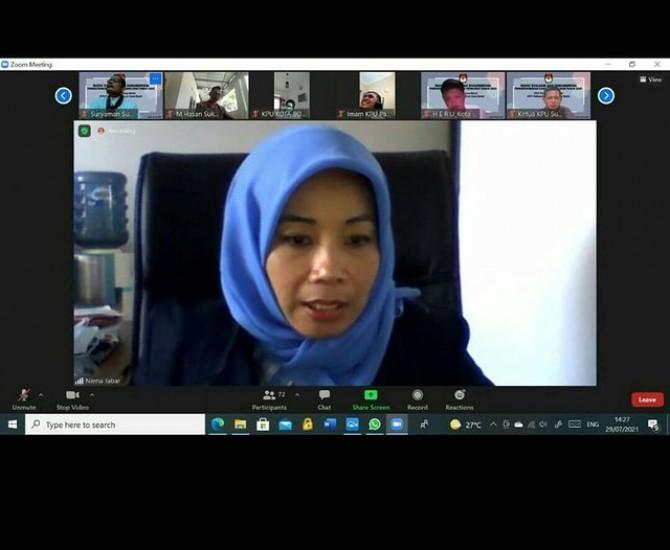 Rapat Evaluasi & Dokumentasi Logistik Pemilihan Tahun 2020