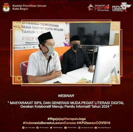 Webinar 3D (Data And Digital Discussion) KPU Kota Sukabumi
