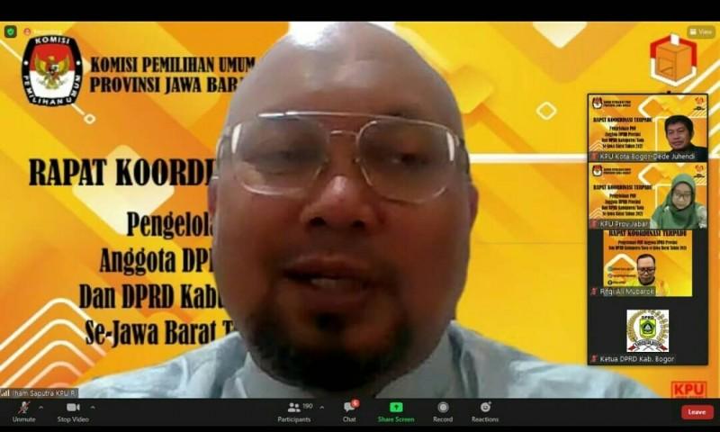 Rakor Terpadu Pengelolaan PAW Anggota DPRD Provinsi & DPRD Kab/Kota se-Jawa Barat