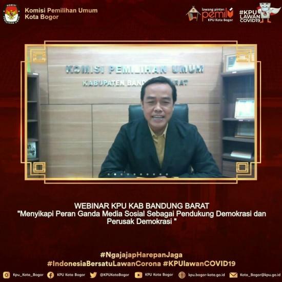 Webinar KPU Kab Bandung Barat
