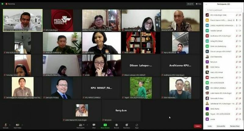 Rapat Koordinasi dengan KPU Kab Minahasa Utara