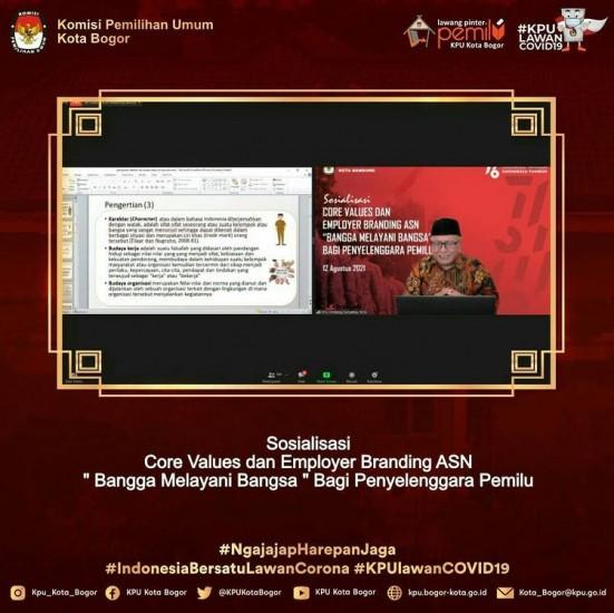 Sosialisasi Core Values & Employer Branding ASN Penyelenggara Pemilu