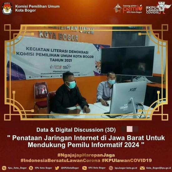 Webinar 3D KPU Provinsi Jawa Barat