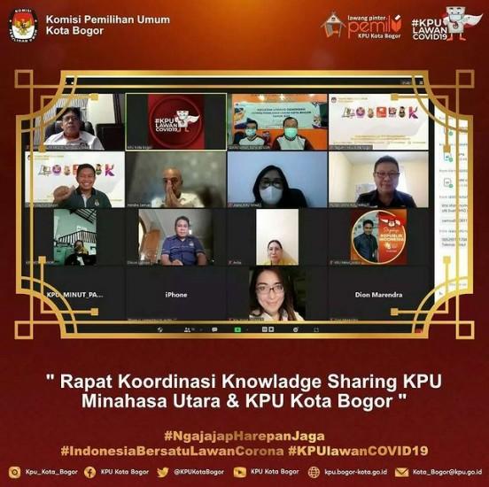 Rapat Koordinasi dengan KPU Kab. Minahasa Utara