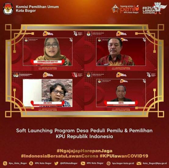 Soft Launching Program Desa Peduli Pemilu & Pemilihan KPU RI