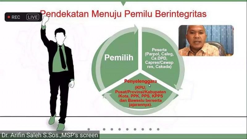 Webinar KPU Kota Binjai