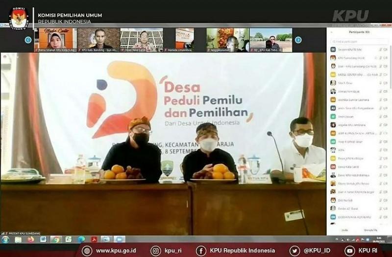 Launching Desa Peduli Pemilu & Pemilihan dari desa untuk Jawa Barat