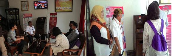 Kunjungan IFES, NEC KORSEL Dan A-WEB Ke KPU Kota Bogor