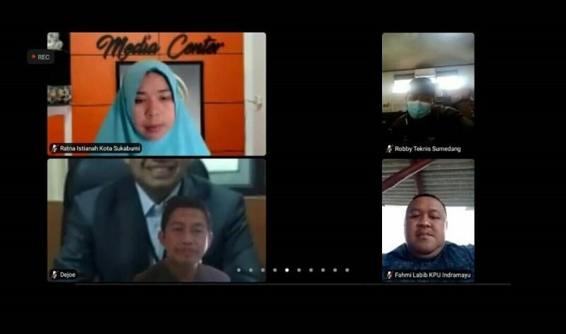 Diskusi PPKM KPU Provinsi Jawa Barat