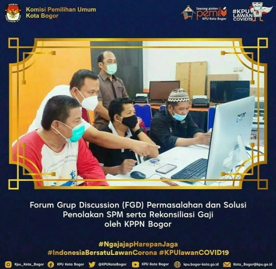 FGD Permasalahan dan Solusi Penolakan SPM serta Rekonsiliasi Gaji