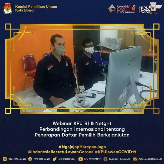 Webinar Internasional KPU Ri & Netgrit