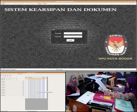 KPU Kota Bogor Terapkan Pengelolaan Arsip dan Dokumen Pemilu Berbasis Elektronik