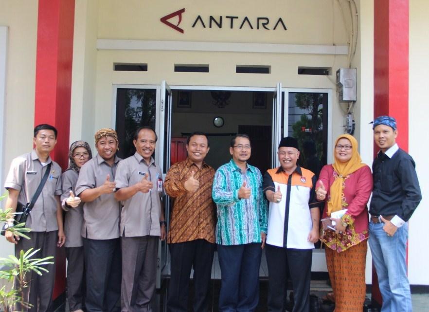 Media Visit KPU Kota Bogor Ke Kantor Berita Antara