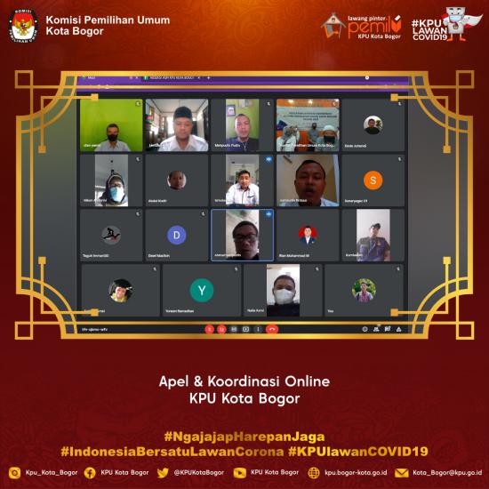 Apel & koordinasi Online