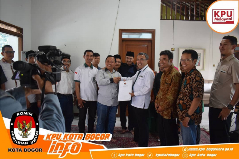 Jelang Pemilu 2019, KPU Kota Bogor Lakukan Sosialsiasi Ke Partai Politik