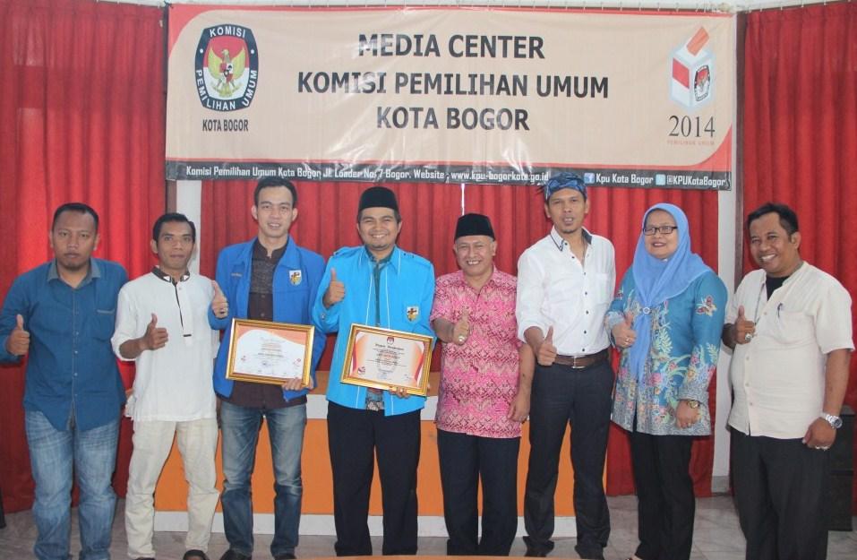 Kunjungan KNPI Kota Bogor