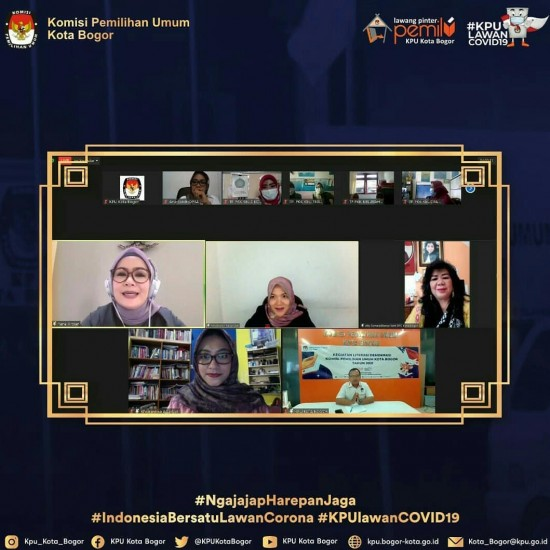 Webinar KAPENDAK KPU Kota Bogor