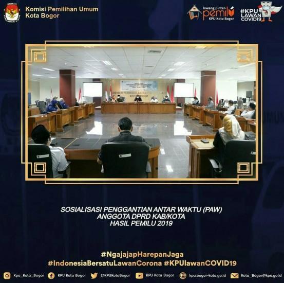 Sosialisasi PAW Anggota DPRD Kota Bogor