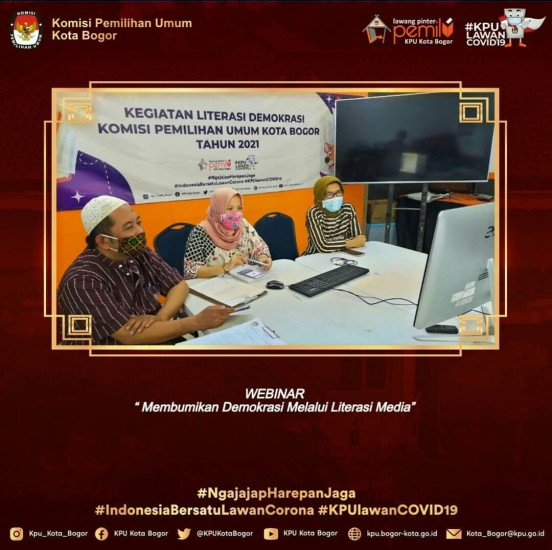 Webinar KPU Kabupaten Garut