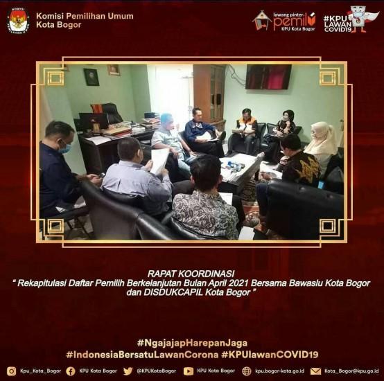 Rapat Pra-Rakor DPB Periode April 2021