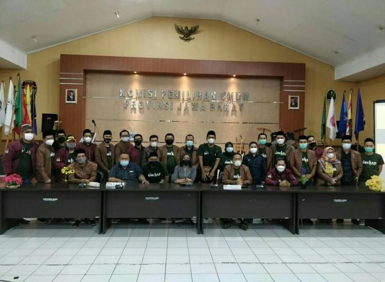 Rapat KPU Provinsi Jabar