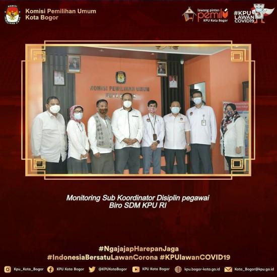 Supervisi Biro SDM KPU RI Ke KPU Kota Bogor
