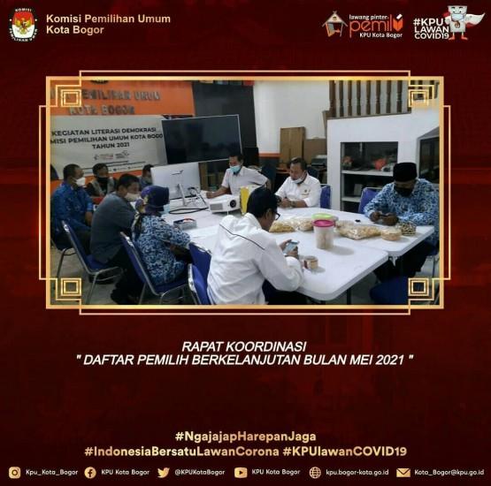 Rapat Internal Rekapitulasi DPB Periode Mei 2021