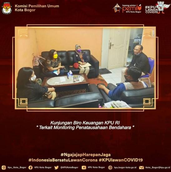 Monitoring Biro Keuangan KPU RI