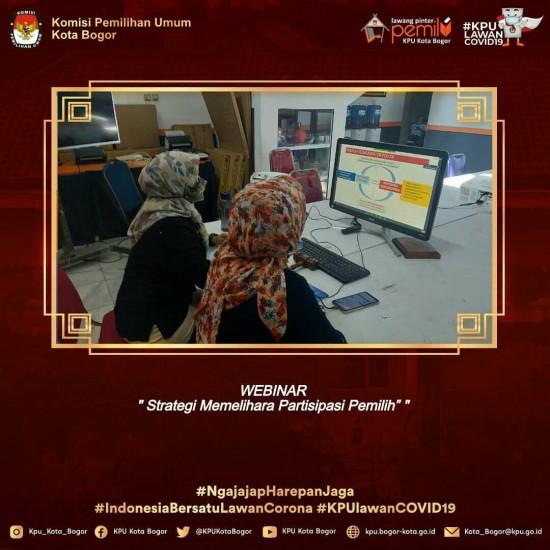 Webinar KPU Kab. Bandung