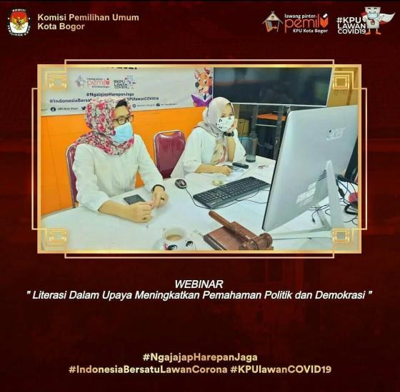 Webinar KPU Kab. Bandung Barat