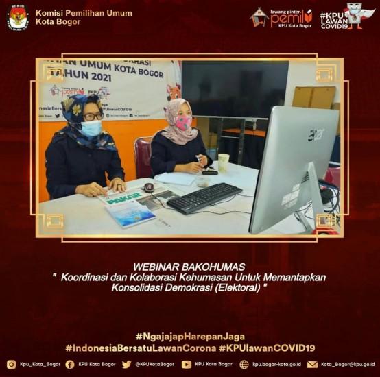 Webinar KPU Kab. Garut