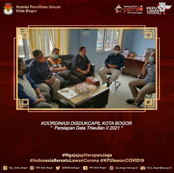 Kunjungan ke Disdukcapil Kota Bogor