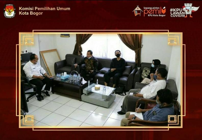 Audiensi Ke Kantor Cabang DInas (KCD) Pendidikan Wil. II Jawa Barat