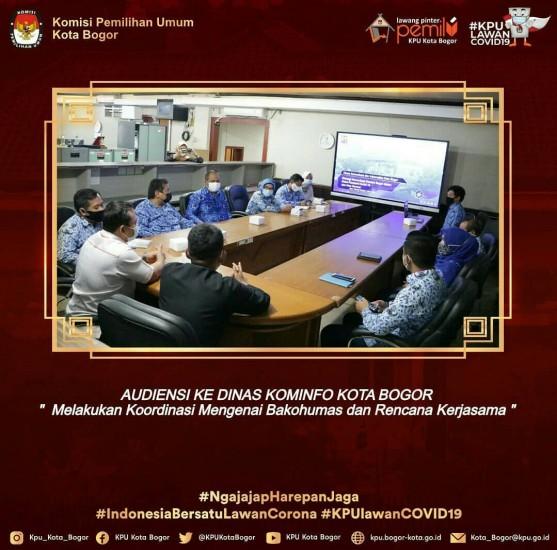 Audiensi ke Diskominfo Kota Bogor