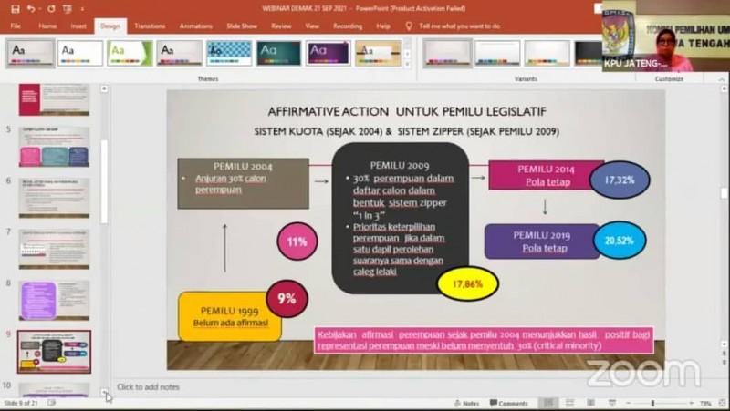 WEBINAR NGOBROLIN PEMILU & PEMILIHAN (NGOPI) KPU KAB. DEMAK