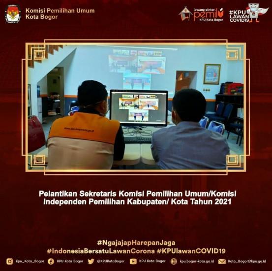 PELANTIKAN CALON SEKRETARIS KPU KAB/KOTA SE-INDONESIA