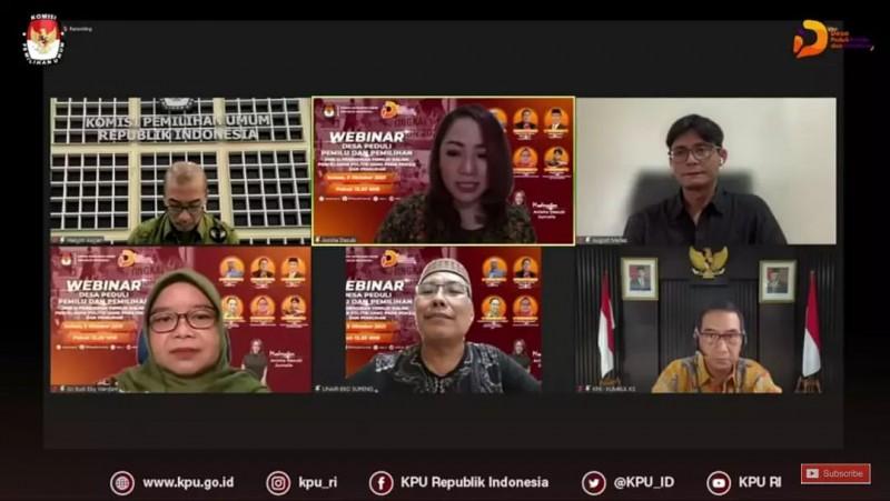 WEBINAR SERI 4 DESA PEDULI PEMILU & PEMILIHAN (DP3)