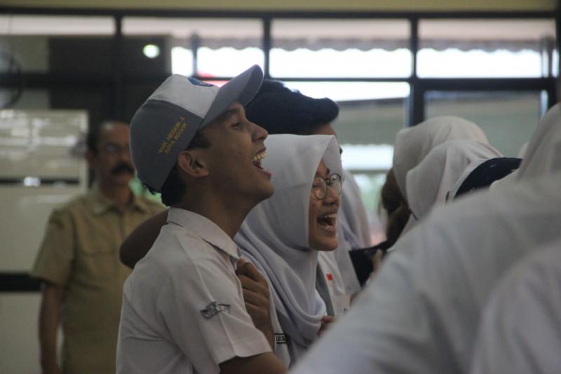 Evoting SMK Negeri 3 Bogor Dampingi Kedatangan KPU Kabupaten Kepahiang