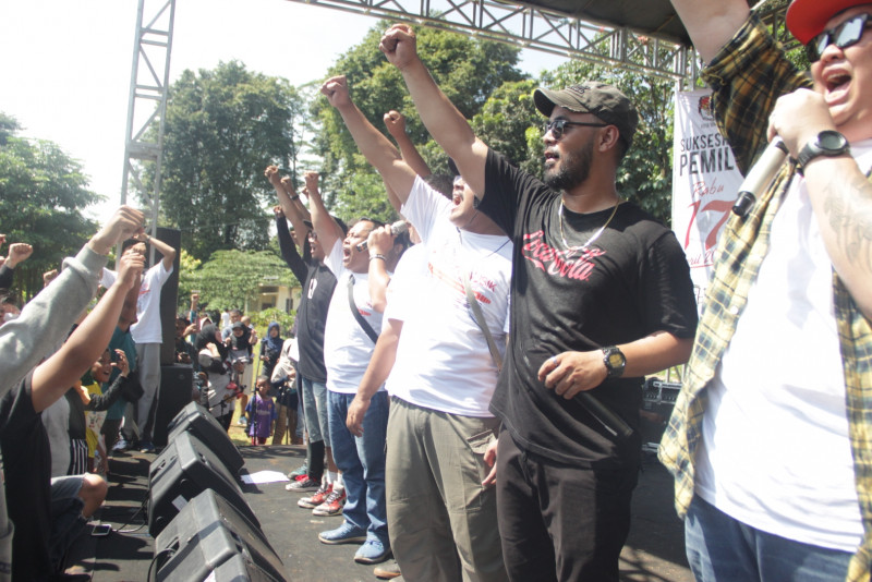 KPU Kota Bogor Sosialisasikan Pemilu 2019 Melalui Konser Musik