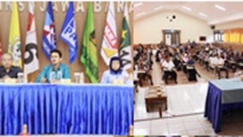 Pelaksanaan Tes Tertulis Calon Anggota KPU Provinsi Jawa Barat