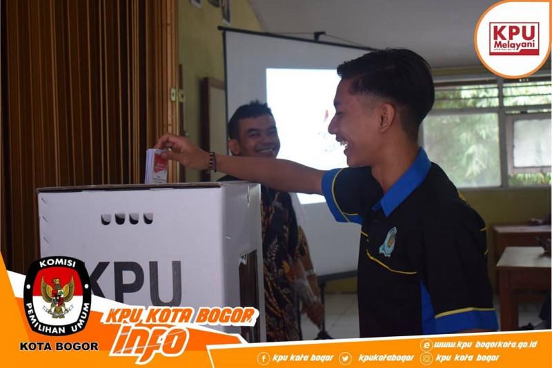 KPU Kota Bogor Sasar Pemilih Pemula